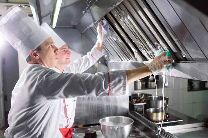 تنظيف هود المطاعم