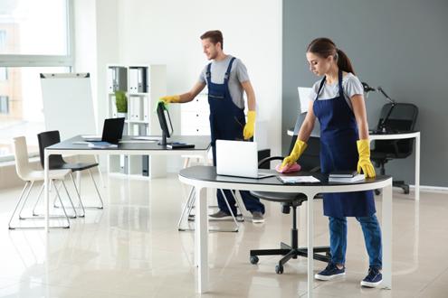 خدمة تنظيف الشركات