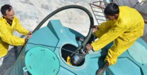 شركة تنظيف خزانات المياه في الرحاب